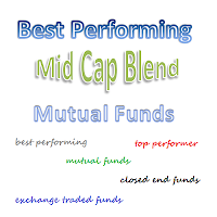 Top Performing Mid Cap Blend Mutual Funds 2013