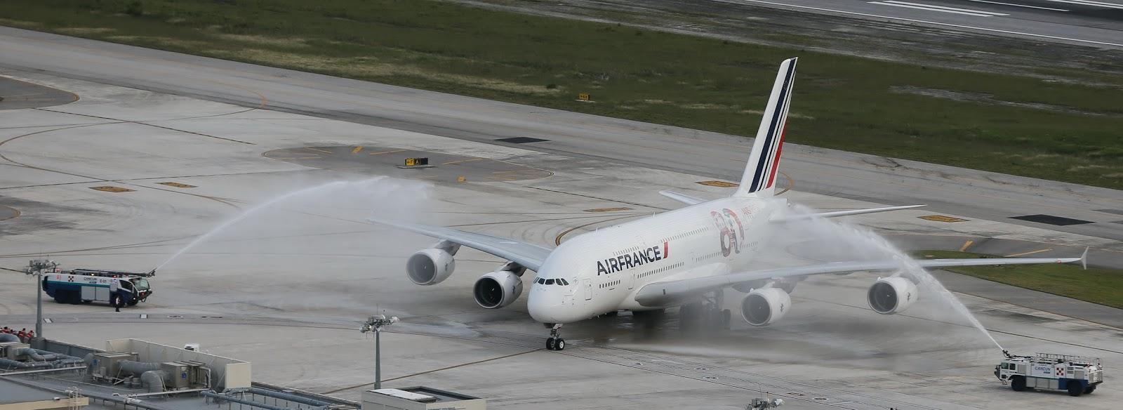 Por último, felicitó a Air France por su 80 aniversario y al Grupo ...