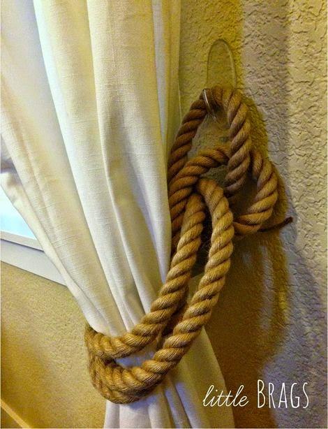 Creative Curtain Tie Backs Ideas : ... ways for you to tie them back creative tie back ideas for curtains