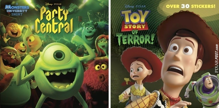 Toy Story of TERROR Party Central Book Cover Random House Depken