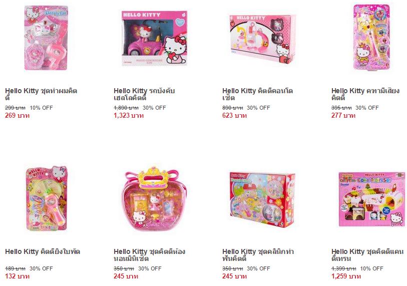 Hello Kitty ของเล่น