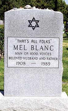 MEL BLANC - VOICE ACTOR, COMEDIAN (1908-1989)