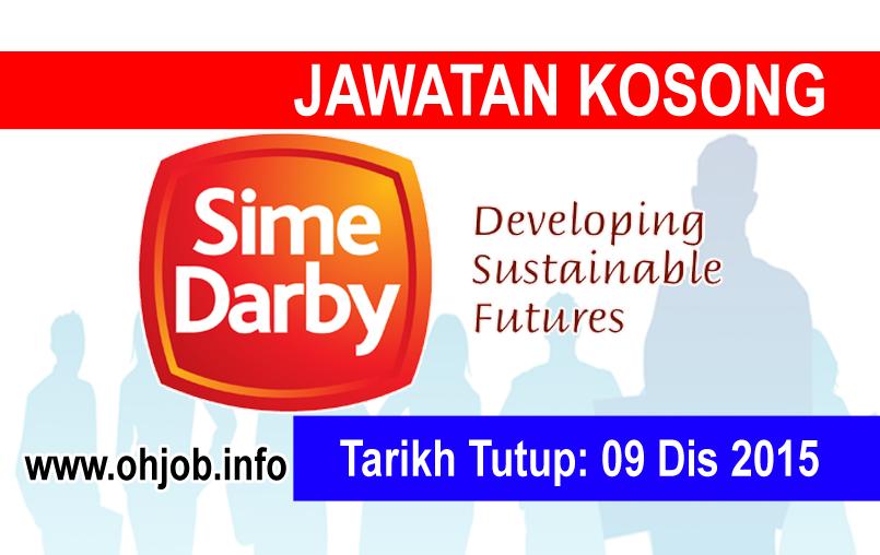 Jawatan Kerja Kosong Sime Darby logo www.ohjob.info disember 2015
