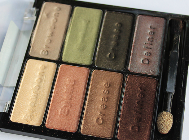 wet'n'wild comfort zone palette review swatches dupe
