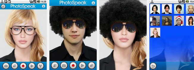 PhotoSpeak: 3D Talking Photo - Aplikasi Unik Android Terbaik dan Lucu