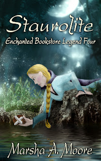 http://www.amazon.com/Staurolite-Enchanted-Bookstore-Legends-ebook/dp/B00CCW98P2/ref=sr_1_1?s=digital-text&ie=UTF8&qid=1366035250&sr=1-1&keywords=staurolite