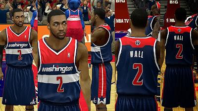 NBA 2K14 Washington Wizards Alternate Jersey