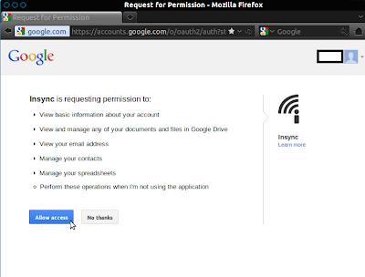 always open files from google drive in desktop application
