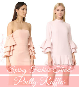 Spring Fashion Trends: Pretty Ruffles.