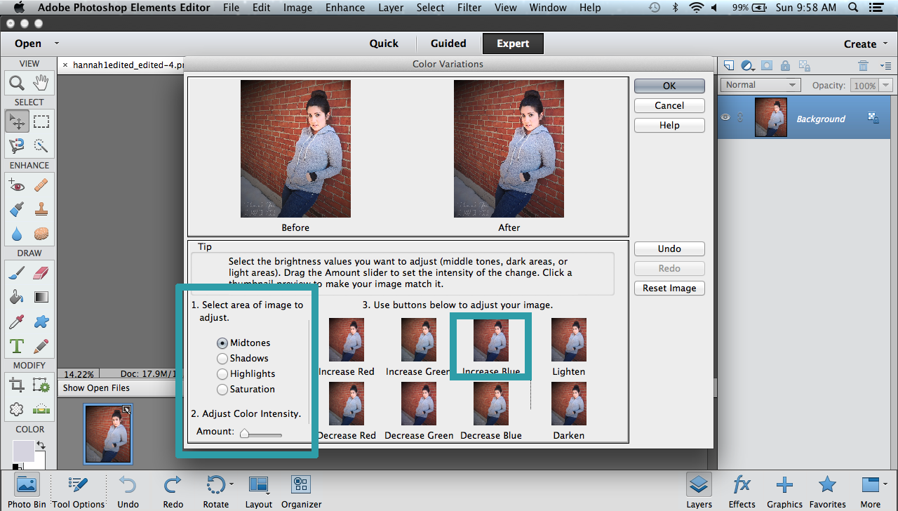 photoshop elements 9 tutorial for beginners