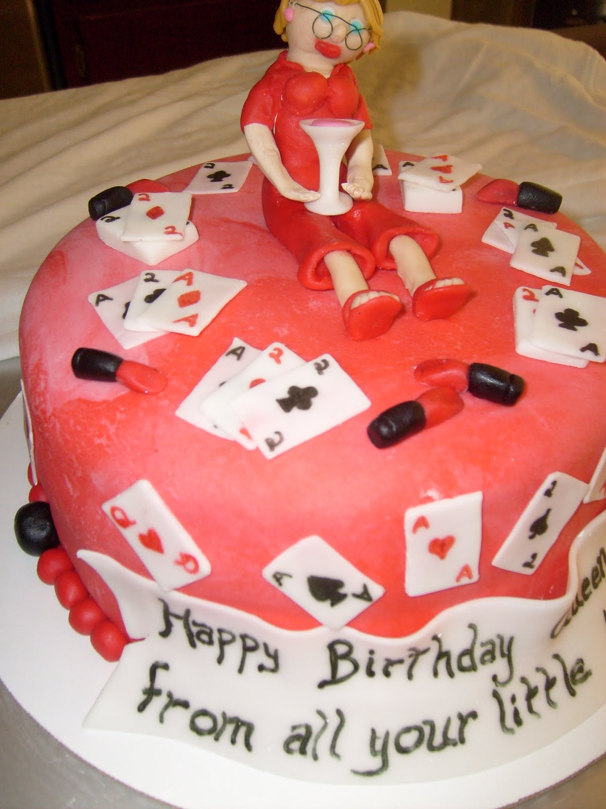 Cake Decoration Playing Cards : Cake Decorating: playing cards