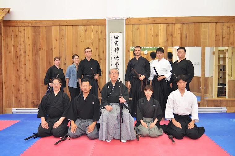 Canada Tamiya Ryu Iaijutsu Genkei Branch