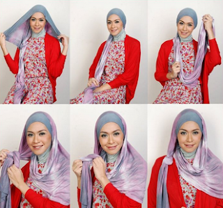 Hijab Modern untuk Idul Fitri