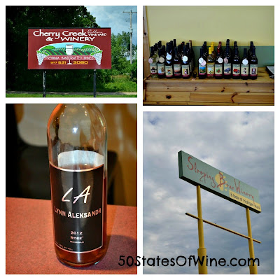 Cherry Creek and Sleeping Bear Wineries