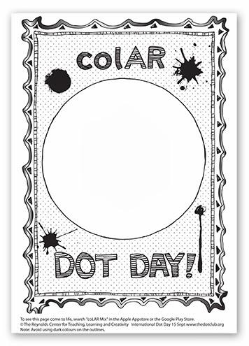 Galitic el punt treballem la creativitat for Colar mix coloring pages