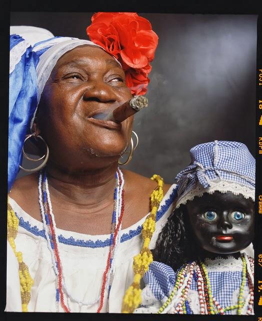"Andres Serrano, Juana Rios Rios, ""Juana de Cubana"", Fortune Teller 2012"