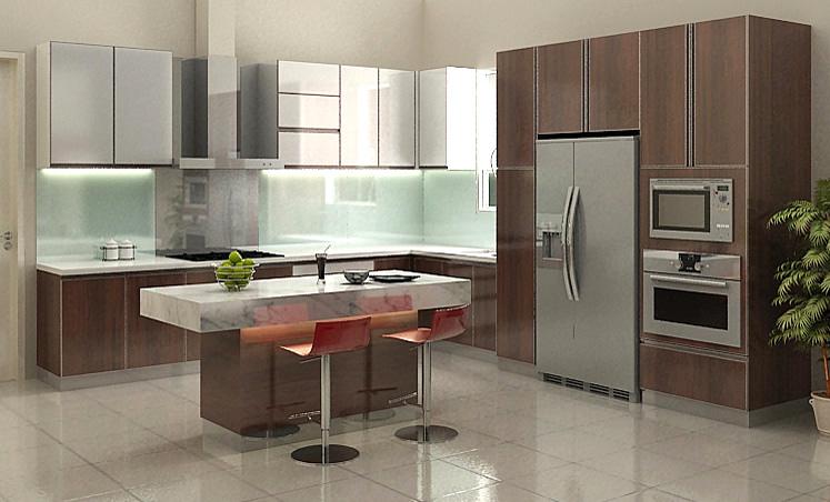Jasa Pembuatan Kitchen Set Mewah Kemang