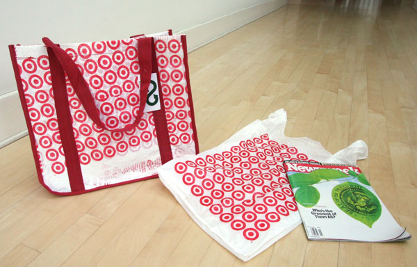 how to make a tote out of plastic bags