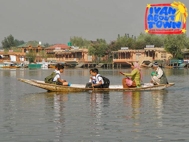 Shikara around Dal Lake, Srinagar, Kashmir