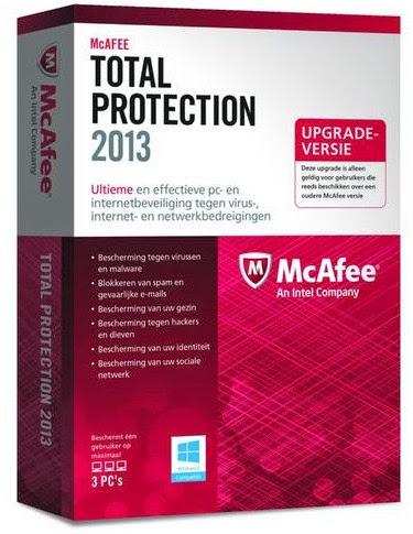 Registrar y activar el antivirus McAfee