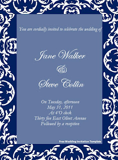 free wedding invitation2