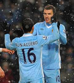 Manchester City ratifica su liderato frente al Fulham