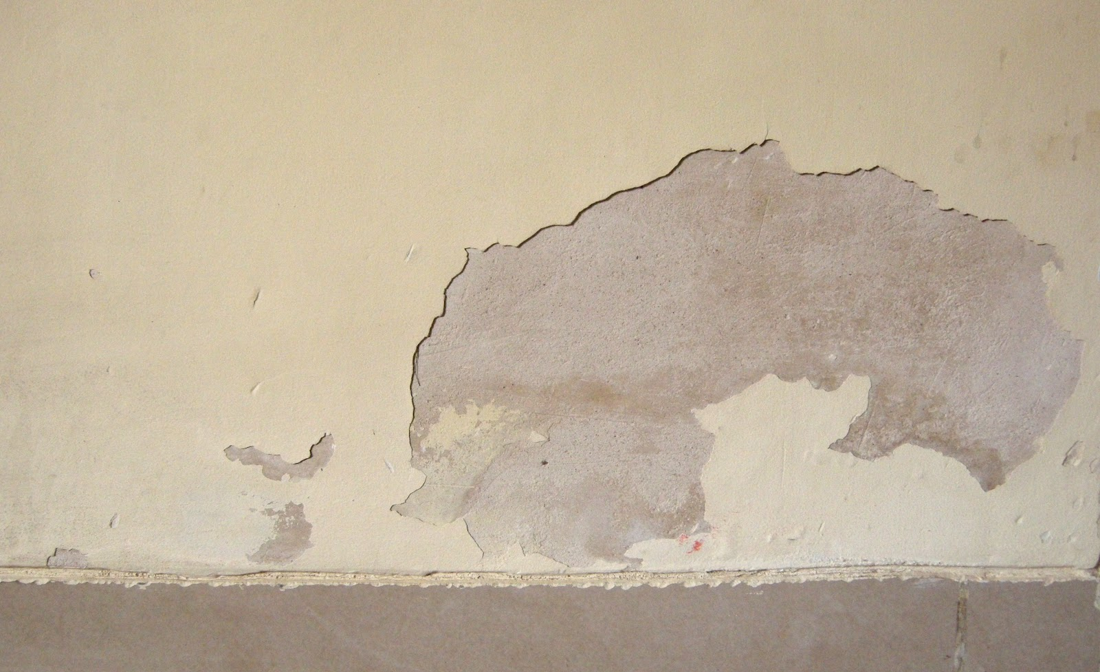 Black Corrosion Paint Peeling