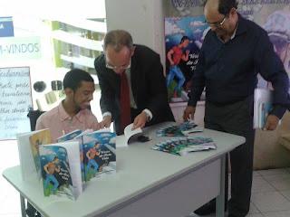 Evento do Livro de Autógrafos do Wagner Martins na Gerência Regional de Educação.