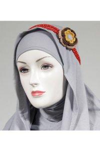 HeadBand AE5 - Merah (Toko Jilbab dan Busana Muslimah Terbaru)