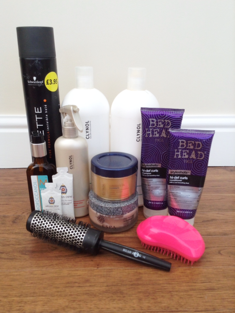 My Hair Care Routine | Schwarzkopf, Clynol, Bed Head, TIGI, Moroccan Oil, Argan Dew, ESPA, Tangle Teezer, Head Jog