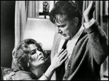 Elizabeth Taylor y Richard Burton en ¿Quién teme a Virginia Woolf? (1966)