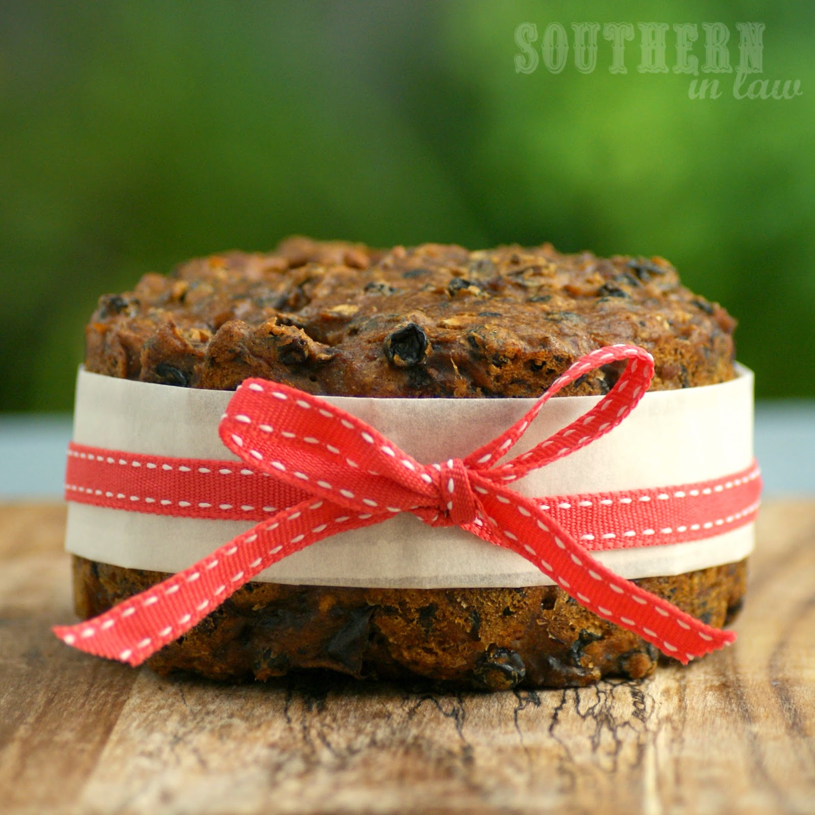 Healthy, Vegan and Gluten Free Fruit Cake
