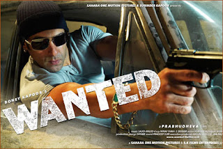 Wanted (released in 2009) - A typical Masala movie starring Salman Khan
