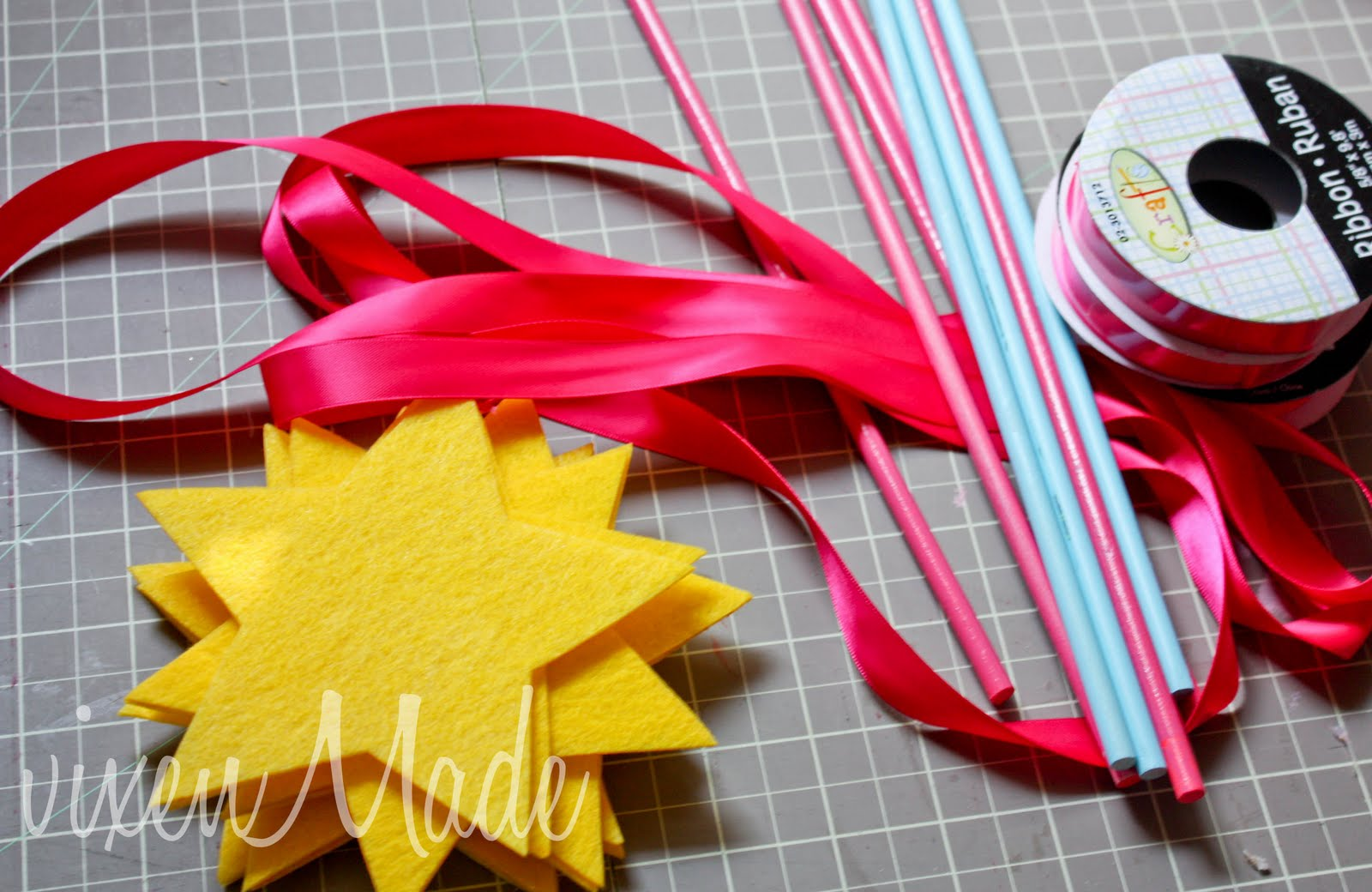 pinkalicious wands vixenmade parties