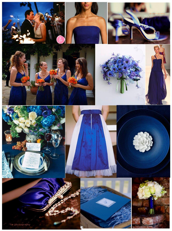 decoracao azul royal e amarelo casamento : decoracao azul royal e amarelo casamento:Casamentos DIY: Cores para decoração de Casamento
