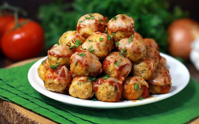 Chicken Parmesan Meatballs – Тhe Healthy Way ! |