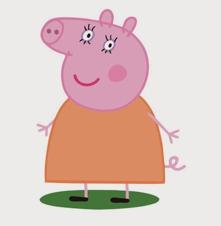 Mama cerdita, la madre de peppa pig