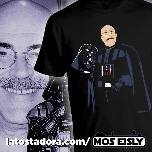 camiseta constantino romero darth vader