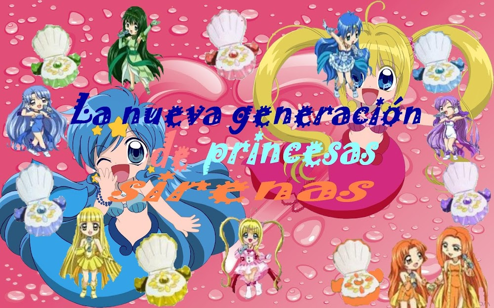 La nueva generación de princesas sirenas ¡