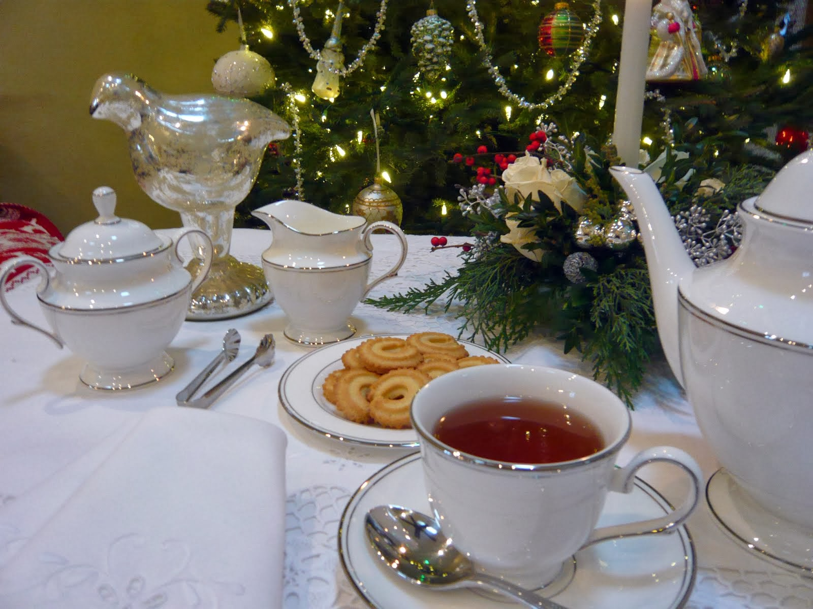 A Cozy Christmas Tea