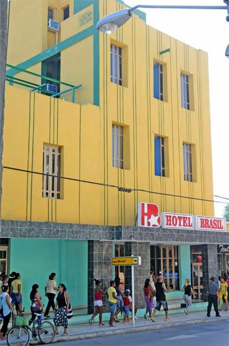 Hotel Brasil en Guantánamo...