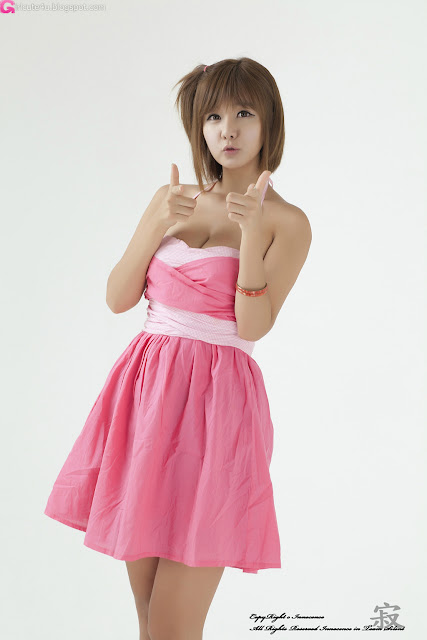 3 Ryu Ji Hye in Pink-Very cute asian girl - girlcute4u.blogspot.com