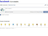 Cara Buat Komentar Facebook Di Atas Komentar Blog