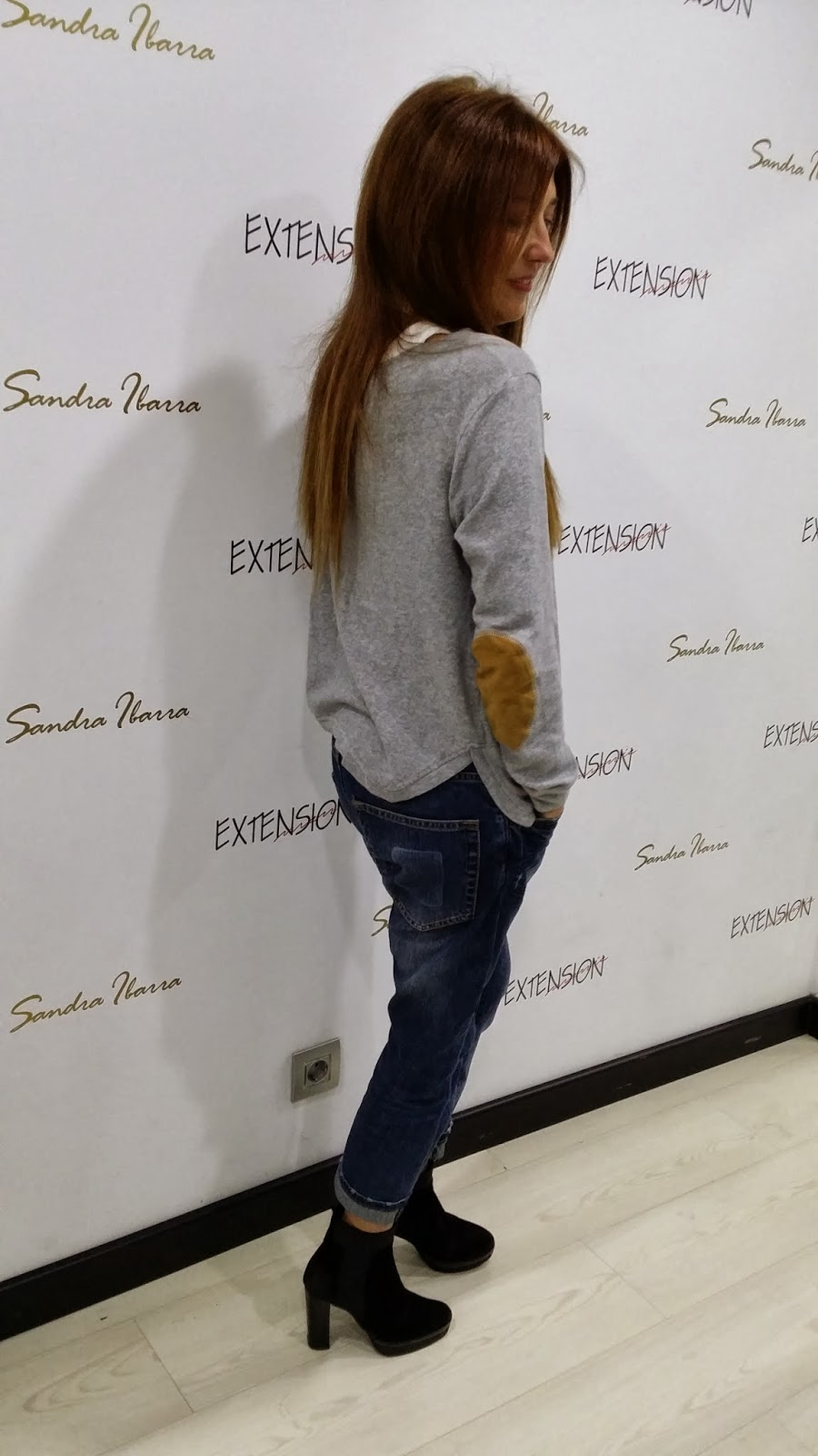 Look, streetstyle, fashionblogger, moda, jeans, gris