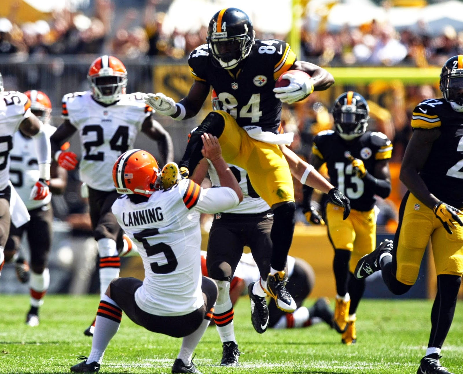 Antonio Brown best football highlight