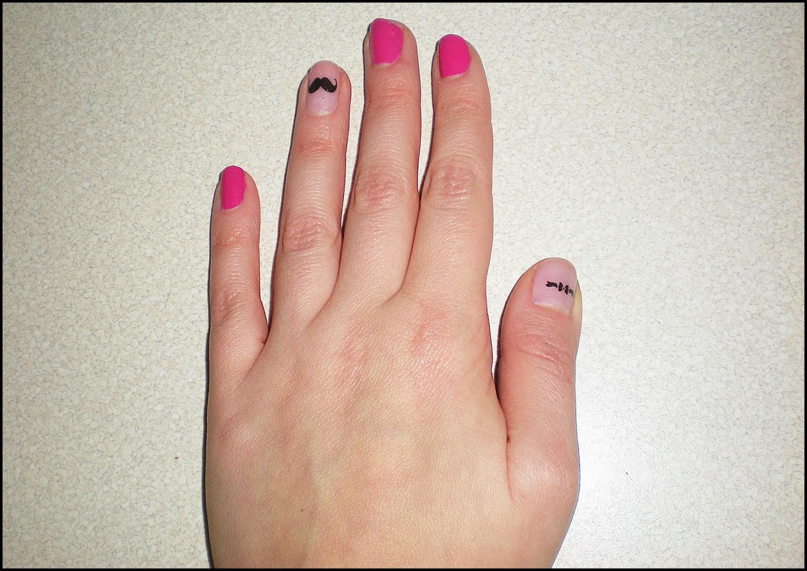 Moje paznokcie | naklejki wodne | cz.1