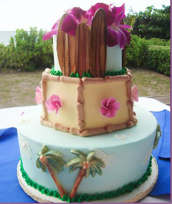 Hawaiian Tropical Cakes