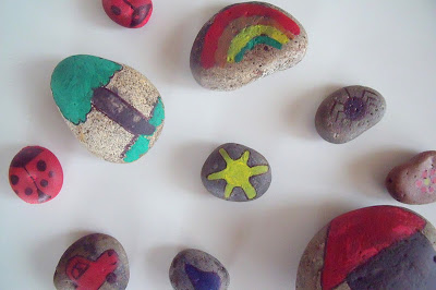 PAINTED ROCKS STORY STONES