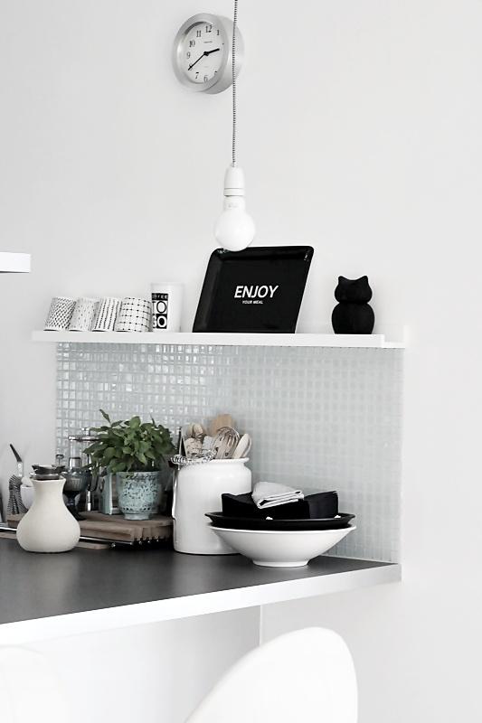 Decorar la cocina con una línea moderna