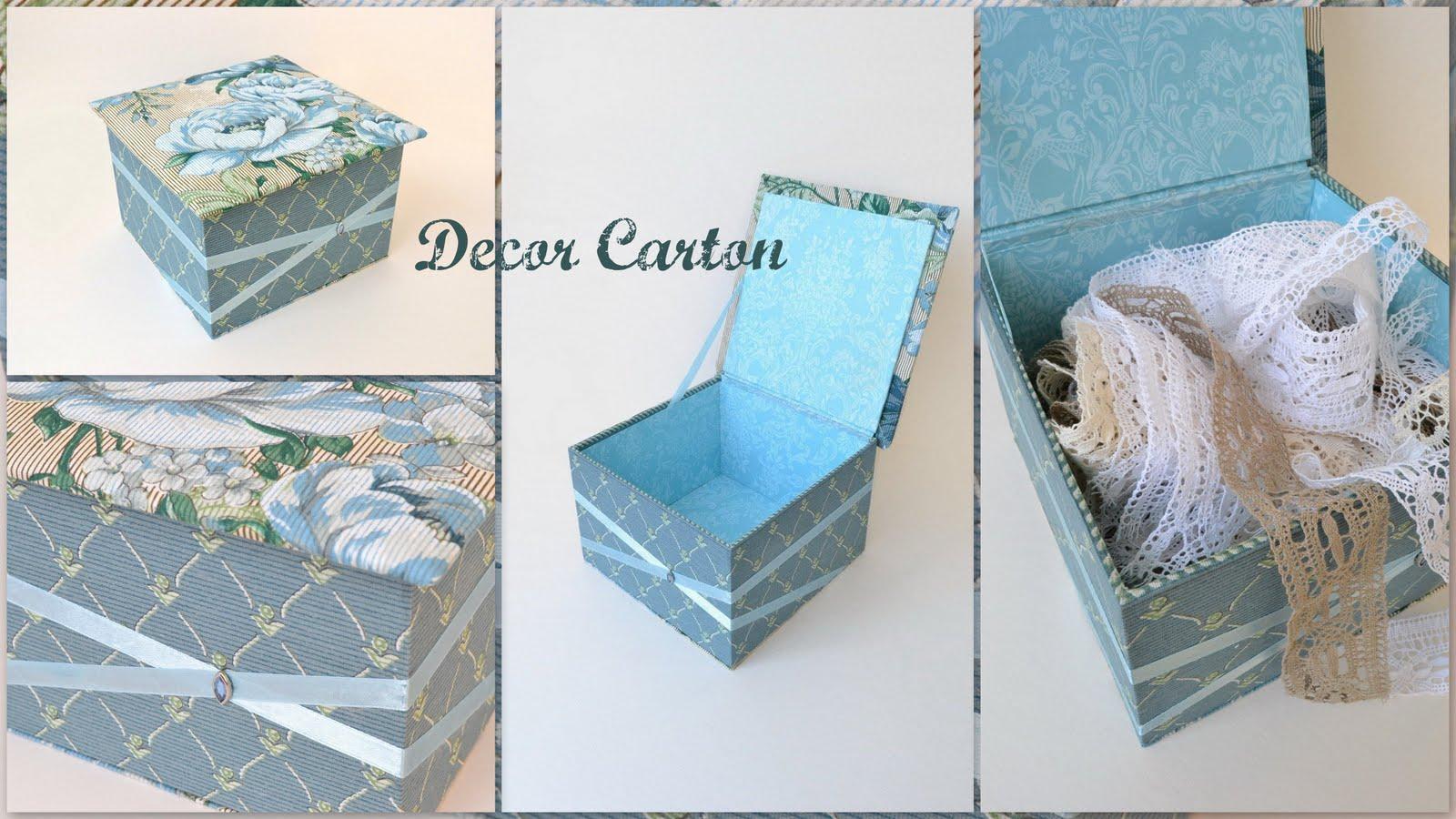 Как сделать из ткани и картона